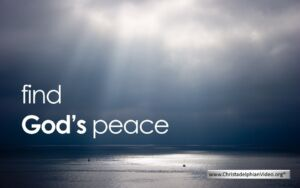 Find God's Peace - video post