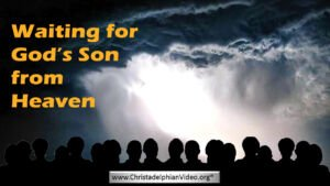 Waiting for his son from Heaven video post