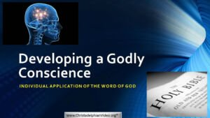 Developing a Godly Conscience – 2 Part Bible Study Boxset New Video Release
