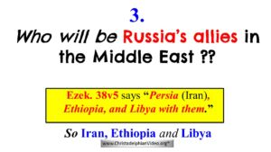 3: Who will be Russia's allies in the Middle East when Armageddon happens? - Video post
