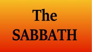 SHOULD BELIEVERS KEEP THE SABBATH?