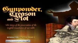 MUST SEE! -Gunpowder, Treason and Plot - What does it all mean? Premiers at 10am today...