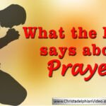 Bible Seminar: Concerning Prayer'