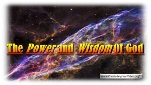 The Power and Wisdom of God Bible Study Boxset New Video Release