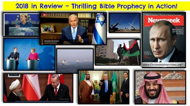 **MUST SEE** 2018 in Review - WOW - Bible Prophecy Alive & in Action Today