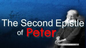 The Second Epistle Of Peter 3 Part Bible Study Boxset New Video Release
