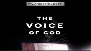 The Voice Of God Bible Study single New Video Release
