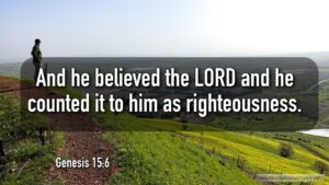 "Thought for January 12th. ""COUNTED … TO HIM FOR RIGHTEOUSNESS"""