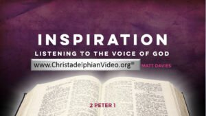 Inspiration; Listening to the Voice of God New Video Release