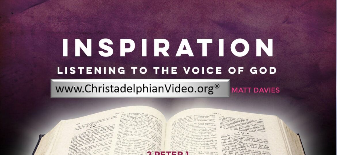 Inspiration - Listening to the Voice of God.0