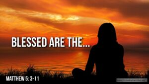 """Thought for January 3rd. """"BLESSED ARE THE …"""""""