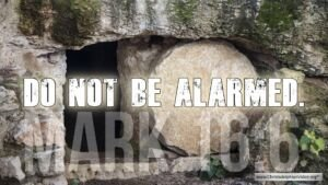 "Thought for February 19th. ""DO NOT BE ALARMED … TREMBLING AND ASTONISHMENT"""