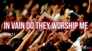 "Thought for February 11th. ""IN VAIN DO THEY WORSHIP ME"""