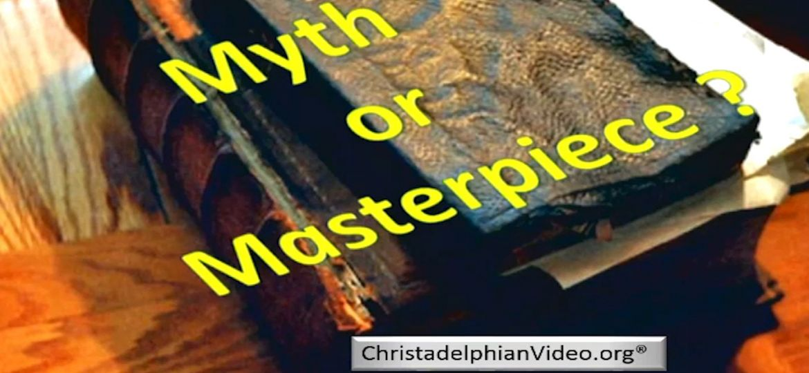 The Bible — myth or masterpiece...