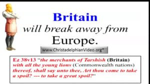 WOW! The Utter Chaos in Europe! Britain 'WILL' break away from Europe the Bible Proof!