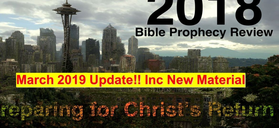 2018 in the light of Bible prophecy - Book Road Ecclesia 5 March 2019