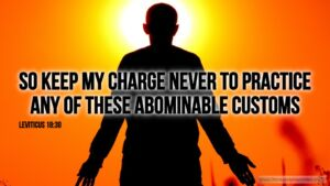 "Thought for March 10th. ""SO KEEP MY CHARGE NEVER TO …"""