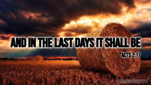"Thought for April 26th. ""AND IN THE LAST DAYS IT SHALL BE …"""