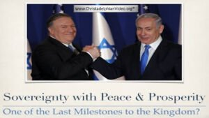 Trump Peace Plan Details Emerging Sovereignty with peace and security, one of the last milestones to the kingdom?