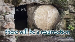 "Thought for May 10th. ""THERE WILL BE A RESURRECTION …"""