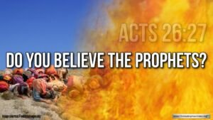 "Thought for May 11th. ""DO YOU BELIEVE THE PROPHETS?"""