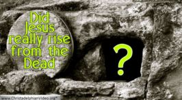 Did Jesus really rise from the dead ?