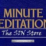 Minute Meditation – The Sin Store by R J. Lloyd