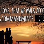 "Thought for June 19th. ""THIS IS LOVE THAT WE WALK … """