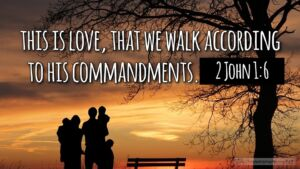 "Thought for June 19th. ""THIS IS LOVE THAT WE WALK ... """