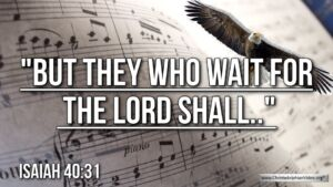 "Thought for June 16th. ""BUT THEY WHO WAIT FOR THE LORD SHALL ..."""