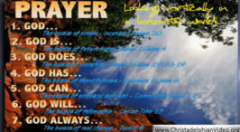 Prayer - Just about everything you need to know.