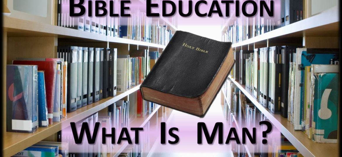 THUMB-Bible Education-What Is Man?