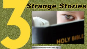 Three Strange Stories - Bro Roger Lewis