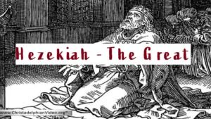 Hezekiah the Great.
