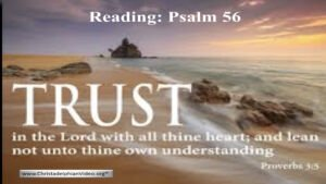 'Trust in the Lord' - What does it mean practically?