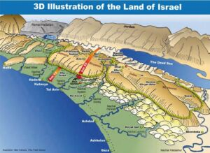 "The mountains of Israel"". Where and why is it important?"