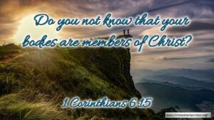 "Thought for August 25th. ""DO YOU NOT KNOW ... """