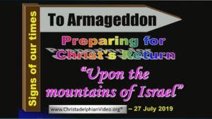 Brisbane Prophecy Day 2019: Upon the Mountains of Israel