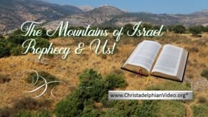 *MUST SEE* -The Mountains of Israel (WEST BANK) Prophecy!