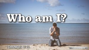 """Thought for October 3rd. """"WHO AM I?"""""""