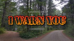 """Thought for October 4th. """"I WARN YOU …"""""""