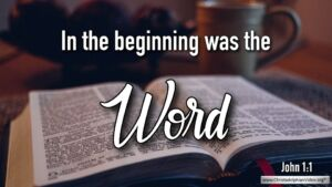 "Thought for October 10th. ""THE WORD"""