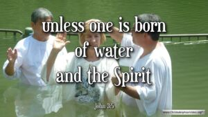 "Thought for October 11th. ""UNLESS ONE IS BORN OF WATER AND THE SPIRIT"""