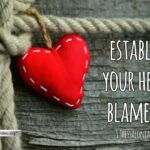 "Thought for November 17th. ""ESTABLISH YOUR HEARTS BLAMELESS"""