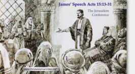 James' Speech From Acts 15:13-31