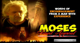 Moses' Final Appeal...