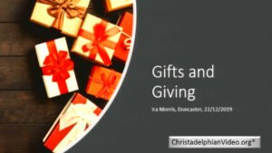 Gifts and Giving