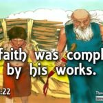 "Thought for December 8th. ""FAITH WAS COMPLETED BY … """