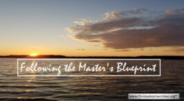 Pause to consider - The Master's Blueprint