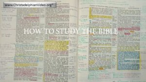 How to Study the Bible (Admin note - ULONYT)